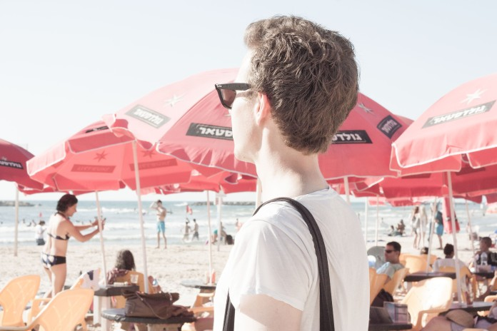Beach of Tel Aviv | piecefully